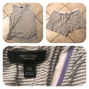 Simply Vera Wang Pajamas